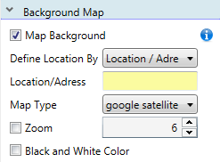 At First You Must In The Combo Box Define Location By Select The Way How You Define The Location On Map Overall You Have Three Options